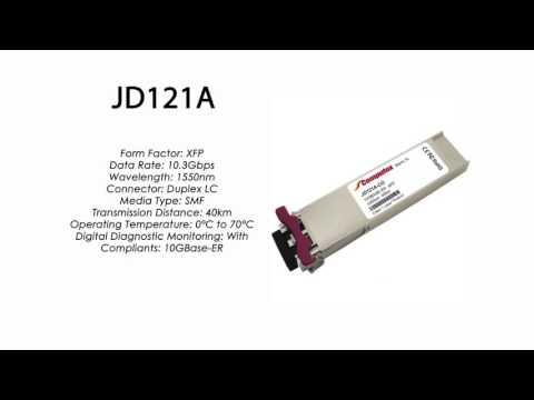 JD121A | HP Compatible 10GBase-ER 1550nm 40km XFP