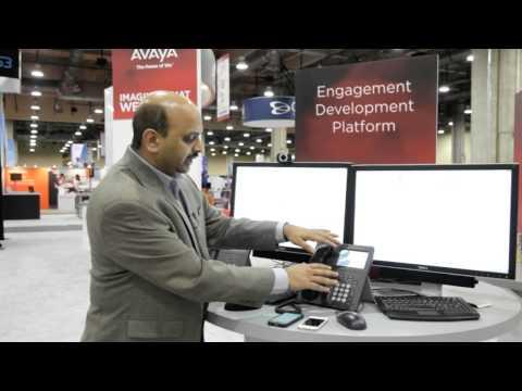 Avaya Virtual Trade Show - Engagement Development Platform & Snap-Ins