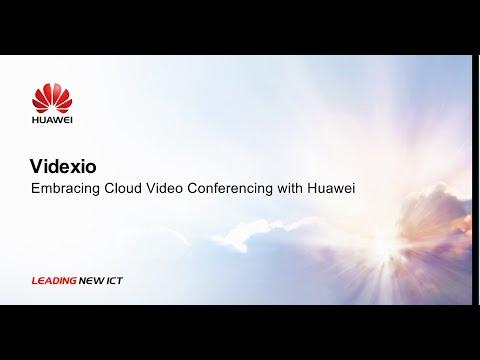 Videxio:Embracing Cloud Video Conferencing With Huawei