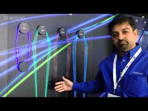 Corning® Fibrance™ Light-Diffusing Fiber At LIGHTFAIR 2015