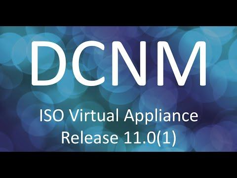 Demo: Installing The Cisco DCNM ISO Virtual Appliance, Release 11.0(1)