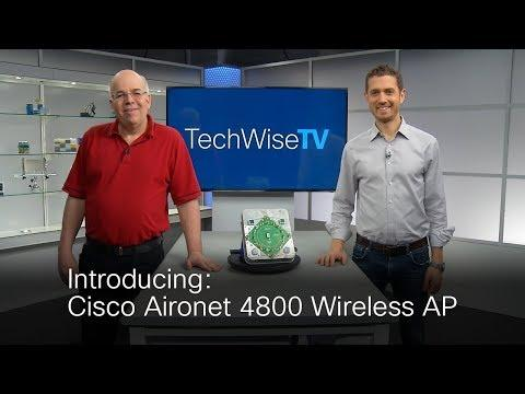 Aironet 4800 Access Point On TechWiseTV