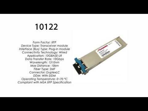 10122  |  Extreme Networks Compatible 10GBASE-LR XFP 1310nm 10km SMF