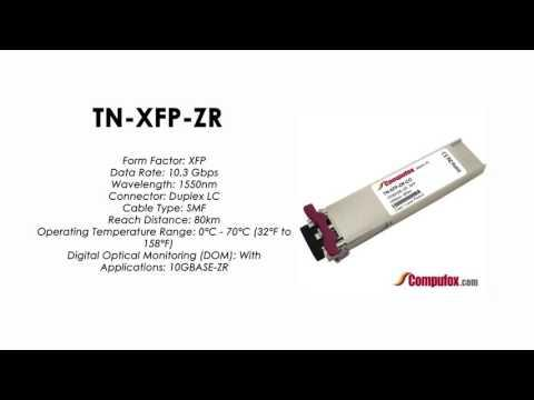 TN-XFP-ZR  |  Transition Compatible 10GBASE-ZR XFP, 1550nm SMF 80km