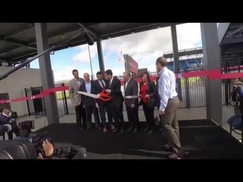 Avaya Stadium Ribbon Cutting Ceremony