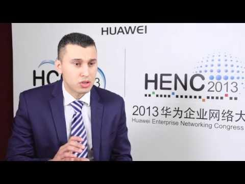 HENC 2013:Netherlands Distributor TechAccess Talks About Huawei Anti DDoS Solution