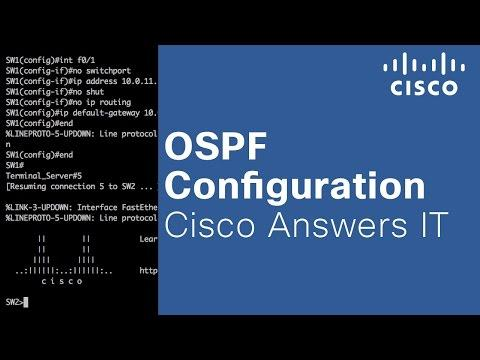 OSPF Configuration - Cisco Answers IT