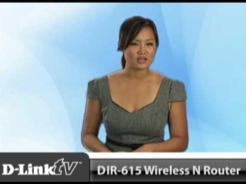 D-Link's DIR-615 Wireless N Router
