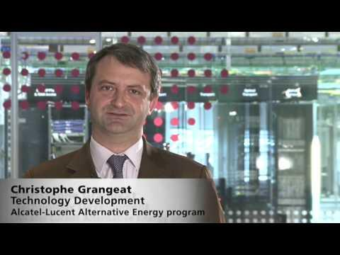 Alcatel-Lucent - Alternative Energy Pilot Site For Wireless Networks