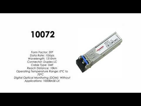 10072  |  Extreme Networks Compatible 1000BASE-LX SFP 1310nm 10km (10-Pack)