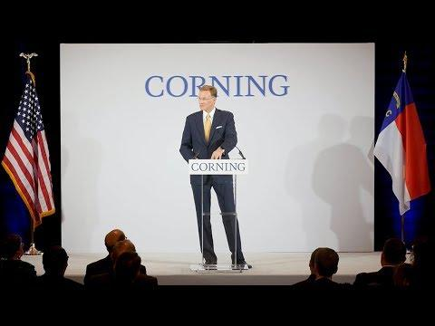 Corning To Construct High-Volume Manufacturing Facility For Corning Valor® Glass