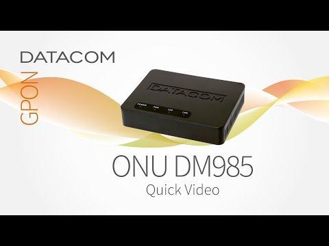 ONU DATACOM DM985 - 100