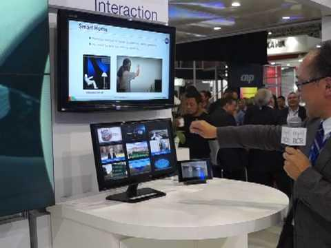 2012 Futurecom: NEC Showcases Futuristic Public Display Data Interaction Technology