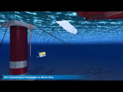 TE SubCom - Oil & Gas Platform Riser Cable Install - Undersea Fiber Optic System