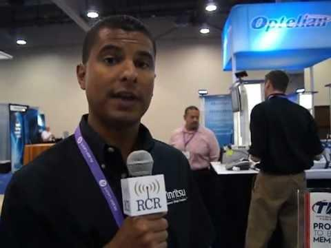 2012 TIA: Anritsu's MD1260a 40 And 100 Gigabit Ethernet Analyzer