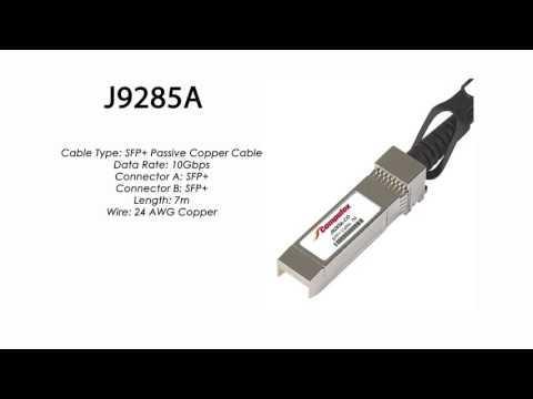 J9285A     HP Compatible SFP+ Passive Copper Cable 7m
