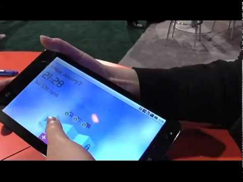 CES 2011: ZTE Tablet