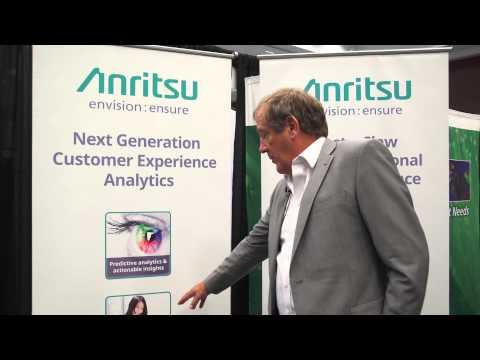 #CCA2015 Anritsu Service Assurance: Allowing Access To Data In Real Time