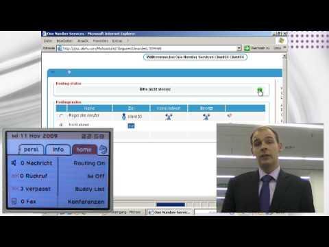 Alcatel-Lucent Showroom MyInstant Communicator Mit Outlook Und OneNumber Dienst