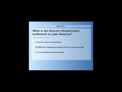 RCR Wireless Editorial Webinar: The Evolution Of Wireless Infrastructure Across Latin America