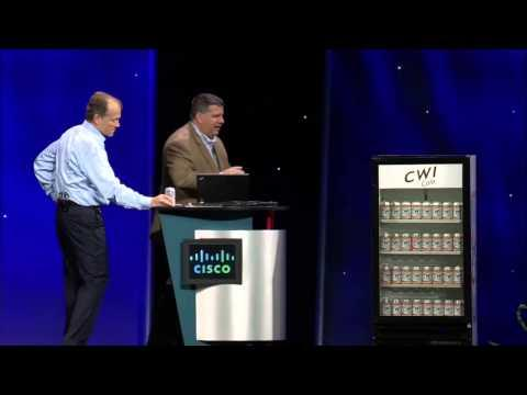 Cisco Live US 2013 Keynote Demo: Internet Of Everything
