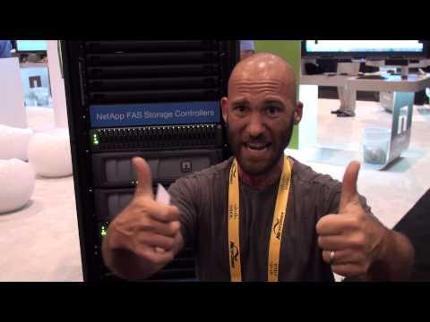 NetApp SANs And NAS At Cisco Live 2013