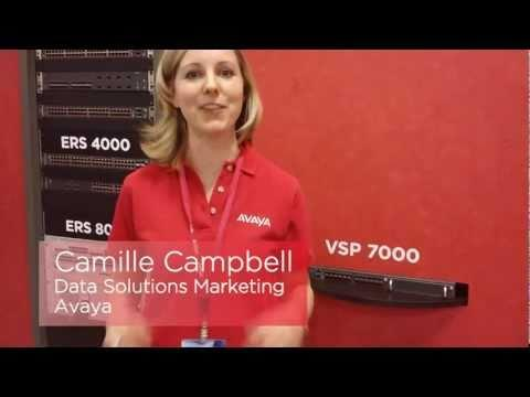 Avaya Virtual Services Platform 7000 (VSP 7000) - Interop 2011