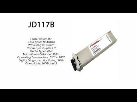 JD117B | HP Compatible 10GBase-SR 850nm 300m XFP