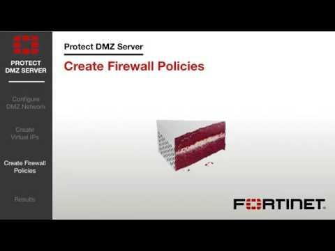 FortiGate Cookbook   Protect Web Server DMZ 5 2