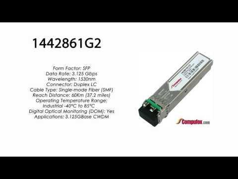 1442861G2  |  Adtran Compatible 3.125Gbps 1530nm 60km CWDM SFP
