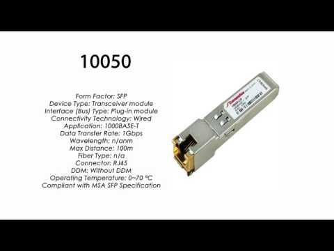 10050  |  Extreme Networks Compatible 1000BASE-TX SFP RJ45 100m