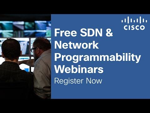 Free SDN And Network Programmability Training