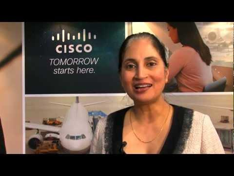 Padmasree Warrior At Mobile World Congress 2013