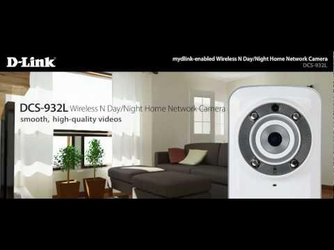 Wireless N Day/Night Home Network Camera (DCS-932L)