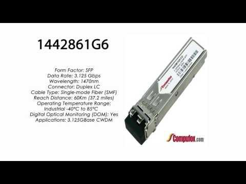 1442861G6  | Adtran Compatible 3.125G CWDM SMF SFP 1470nm 60km