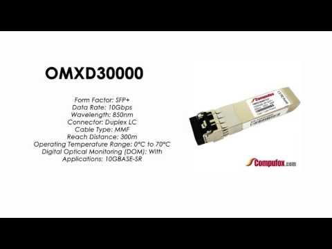 OMXD30000  |  Huawei Compatible SFP+ 10GBASE-SR MMF 850nm 300m