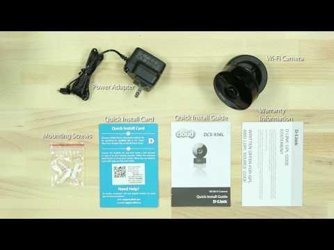 How To Set Up The HD Wi-Fi Camera (DCS-936L)