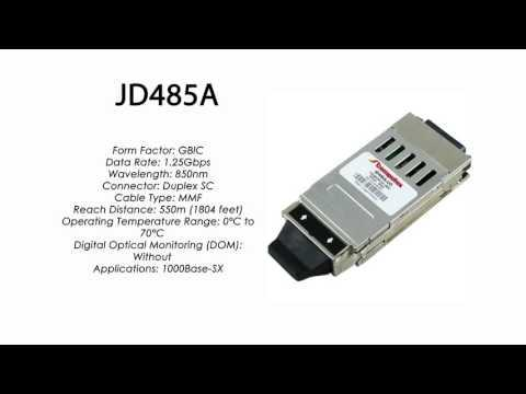 JD485A | HP Compatible 1000Base-SX 850nm 550m GBIC