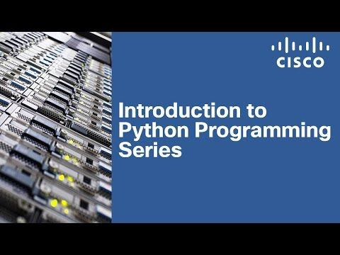 Introduction To Python Programming Series