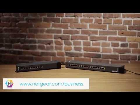 NETGEAR ProSAFE Click Switch Family Overview