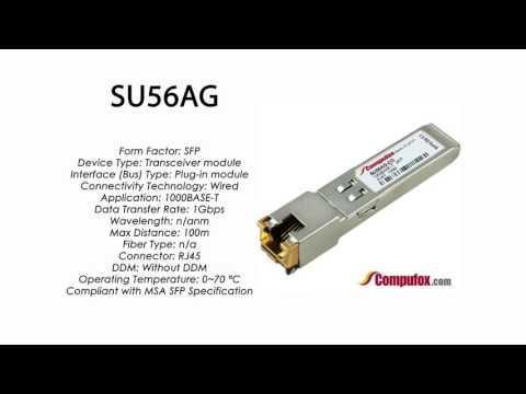 SU56AG  |  Marconi Compatible 1000BASE-T SFP RJ45 100m
