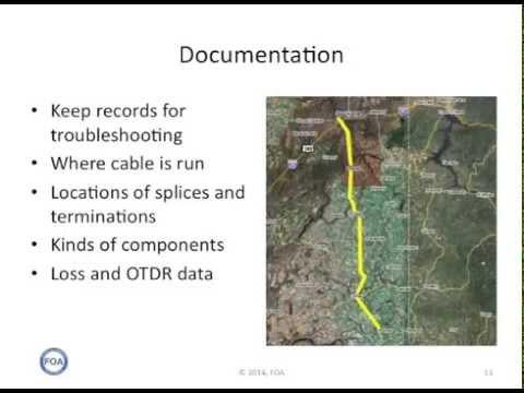 FOA Lecture 39 Maintaining Fiber Optic Networks