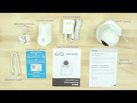 How To Set Up The HD Pan & Tilt Wi-Fi Camera (DCS-5030L)