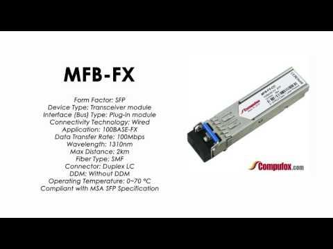 MFB-FX  |  Planet Compatible 100Base-FX 1310nm 2km SFP