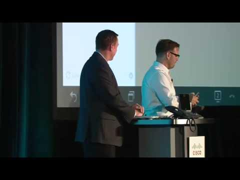 Cisco Partner Summit 2013: Collaboration Breakout DX650 Demo