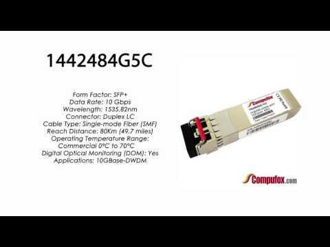 1442484G5C  |  Adtran Compatible 10GBase-DWDM 1535.82nm 80km SFP+