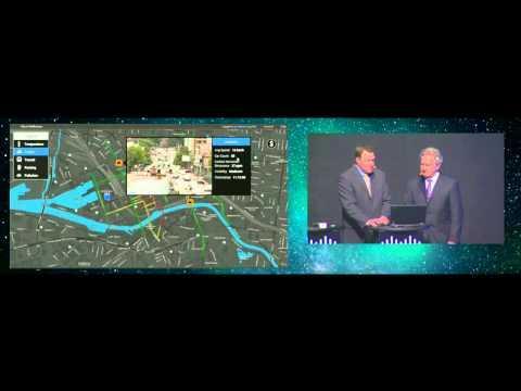 Cisco Live Melbourne 2014 Keynote Demo: City View
