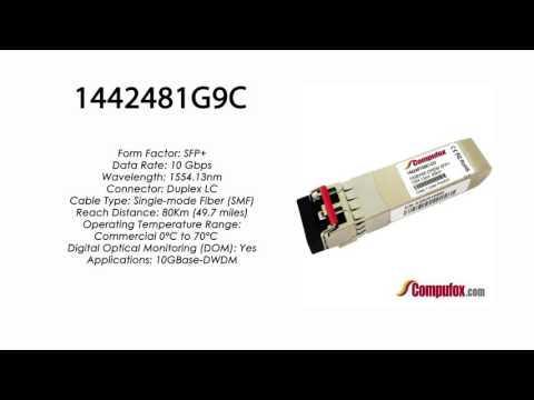 1442481G9C  |  Adtran Compatible 10GBase-DWDM 1554.13nm 80km SFP+