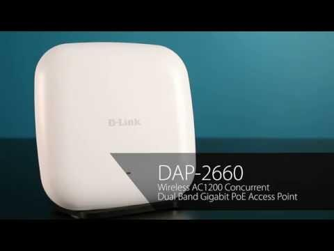 D-Link Wireless AC1200 Access Point Datasheet (DAP-2660)