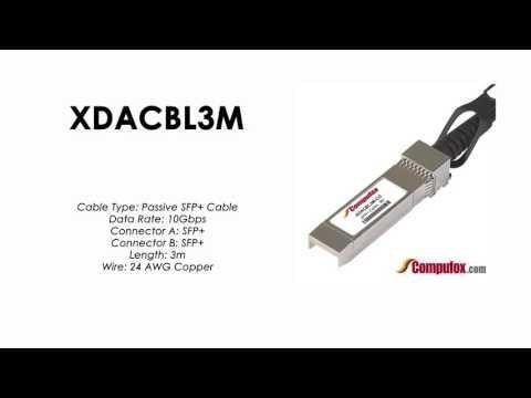 XDACBL3M  |  Intel Compatible SFP+ Passive DAC Cable 3m